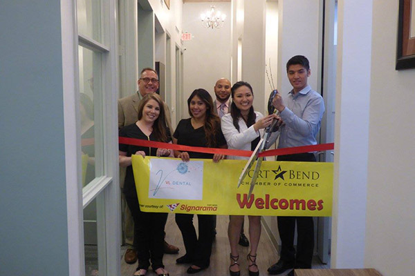 Grand opening of Richmond dental office, VL Dental